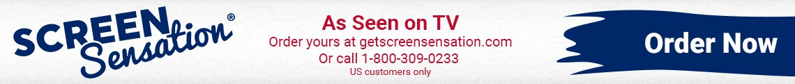 As Seen on TV: Order yours at getscreensensation.com (USA customers only)